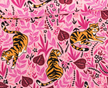 Jersey - Tiger - Dschungel - Jungle - Around the World - Rosa
