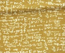 Viskose Jersey - Physics - Mathe - Gleichungen - Ocker