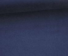 Fashionstoff - Wildlederoptik - Elastisch - 150cm - Schwarzblau