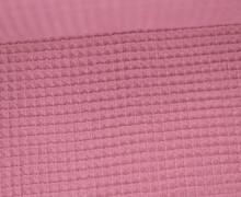 Waffel Piqué - Baumwolle - Altrosa