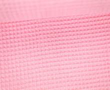 Waffel Piqué - Baumwolle - Babyrosa