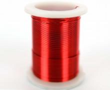 1 Rolle Basteldraht - Dekodraht - Ø 0,3mm - Rot