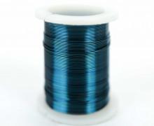 1 Rolle Basteldraht - Dekodraht - Ø 0,3mm - Blau
