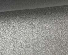 Kunstleder - Fashionstoff - Nappa - Uni - 140cm - Grau