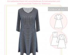 Schnittmuster - Kleid Belezza - No.34 - 34-50 -  lillesol&pelle
