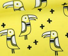Jersey - Big Bird - Mono - Vogel - Hamburger Liebe - Gelb
