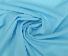 Badelycra - Badefutter - Futterstoff - Uni - Hellblau