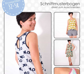 Schnittmuster - Droptop - Kleid - 32-58 - lenipepunkt
