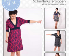 Schnittmuster - Lindo - Kleid - 32-58 - lenipepunkt