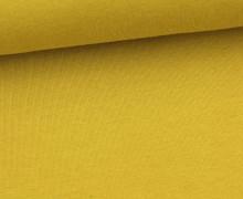 Organic Sommersweat - Uni - 150cm - Senfgelb