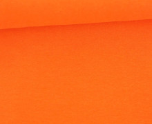 Glattes Bündchen - Uni - Schlauchware - Orange Meliert