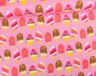 Jersey - Beach Fun - Popsicles - Eis - Dunkelrosa - Doro Kaiser