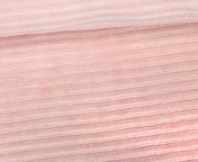Nicki in Cordoptik - Weich - Elastisch - Uni - Hellrosa