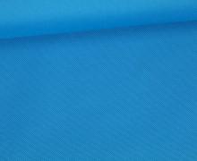 Outdoorstoff - Oxford - Taschenstoff - Uni - Wasserdicht - Cyanblau