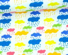 Jersey - Happy Clouds - Wolken - Weiß - Alpenmädchen