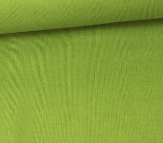 Stretchcord - Feincord - elastischer Babycord - Uni - Maigrün
