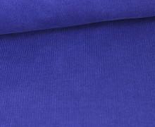 Stretchcord - Feincord - elastischer Babycord - Uni - Marineblau