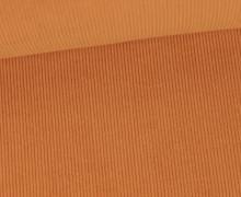 Stretchcord - Feincord - elastischer Babycord - Uni - Ocker
