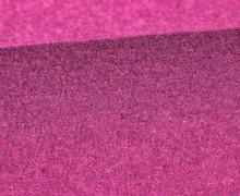 Wolle - Walkstoff - Uni - Pink