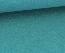 Wolle - Walkstoff - Uni - Petrol