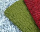 Strickstoff - Melange - Elastisch - Stiched Folk - Milliblus - Rot Meliert