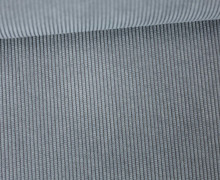 Cord - Feincord - Wasserfest - beschichtet - Grau