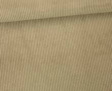 Cord - Feincord - Wasserfest - beschichtet - Beige