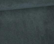 Cord - Feincord -  Wasserfest - beschichtet - Schwarz