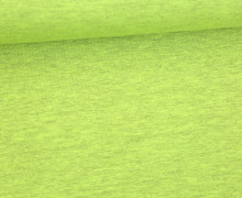 Sommersweat Lou - Uni - 160cm - Hellgrün Meliert