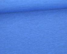 Sommersweat Lou - Uni - 160cm - Blau Meliert