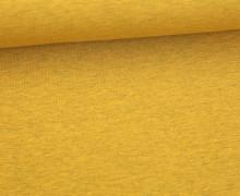 Sommersweat Lou - Uni - 160cm - Senfgelb Meliert