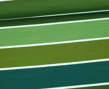 Jersey - Blockstreifen - Stripes - Dunkelgrün - Living for Fabrics