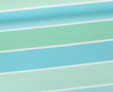 Jersey - Blockstreifen - Stripes - Hellblau - Living for Fabrics