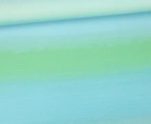 Jersey - Aquarell Verlauf - Color Gradient - Hellblau - Living for Fabrics