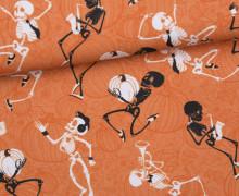 Jersey - GOTS - Pumpkin Dance - Halloween - orange - abby and me