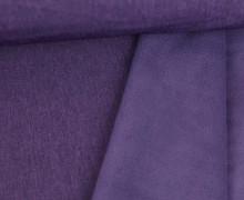 Softshell - Fleece - Uni - Melange - Lila