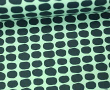 Beschichtete Baumwolle - Flecken - Grafisch - Tillisy - Mint