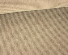 Stretchcord - Feincord - elastischer Babycord - Uni - Beige