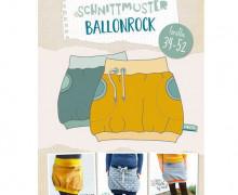 Schnittmuster - Ballonrock - 34-52 - Lybstes