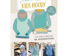 Schnittmuster - Kids Hoody - 128-170 - Lybstes
