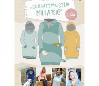 Schnittmuster - Milla Big - S-XXL - Lybstes
