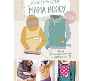 Schnittmuster - Mama Hoody - S-3XL - Lybstes