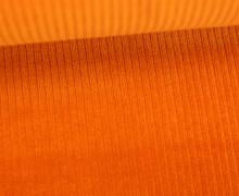 Organic Cord Nicki - Weich - Elastisch - Uni - Bio Qualität - Hamburger Liebe - Orange