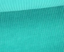 Organic Cord Nicki - Weich - Elastisch - Uni - Bio Qualität - Hamburger Liebe - Aqua