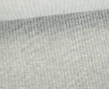 Organic Cord Nicki - Weich - Elastisch - Uni - Bio Qualität - Hamburger Liebe - Grau Meliert