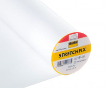 1 Meter Stretchfix - Elastisch - Vliesofix - Freudenberg - Transparent
