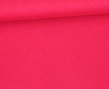 Organic Cotton Interlock Baumwolljersey - Uni - 145cm - Fuchsia