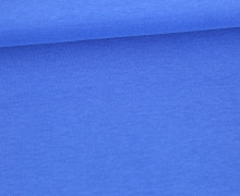 Organic Cotton Interlock Baumwolljersey - Uni - 145cm - Blau