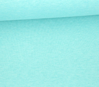 Organic Cotton Interlock Baumwolljersey - Uni - 145cm - Mint Meliert