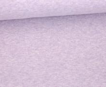 Organic Cotton Interlock Baumwolljersey - Uni - 145cm - Lavendel Meliert